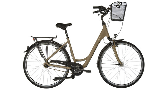 Kalkhoff Jubilee Plus 7R - Vélo de ville Femme - Wave beige/marron